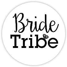 Bachelorette Stickers, Bride Tribe Choose Your Colors (#503-B)