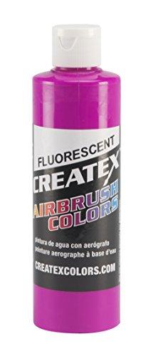 Createx Fluorescent Lumineux Framboise Rouge Airbrush Couleurs Couleur 240ml 13 5402