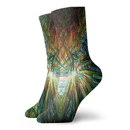 The Machine Elves Sportsocken, legere Socken, wärmende Socken, Polyester, 30 cm, für Damen und Herren
