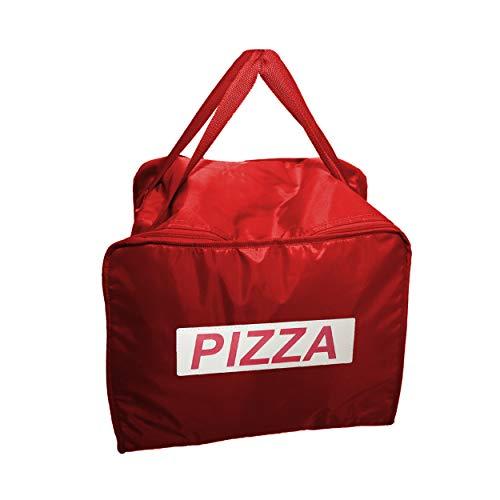REPLOOD Zaino Borsa Termica Portapizza Porta Pizza da Asporto Chiusura a Zip Rosso o Blu capacità...