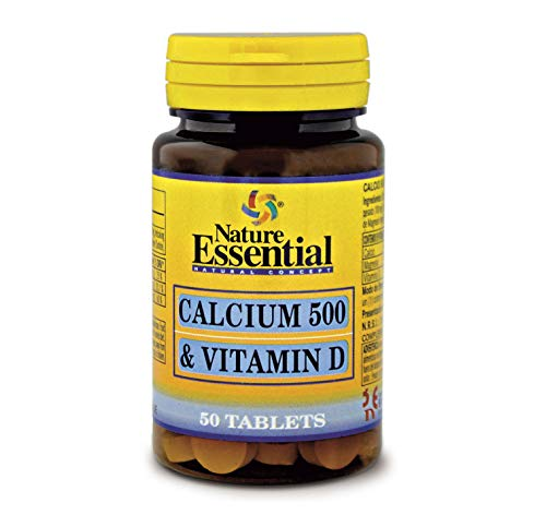 Calcio 500 + vitamina D 50 comprimidos