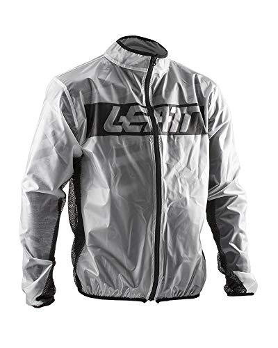 Leatt RaceCover - Chaqueta impermeable gris L
