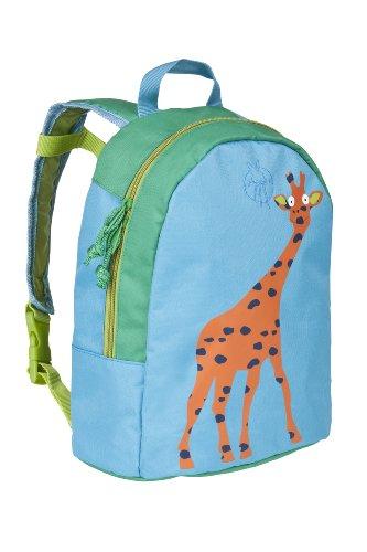 LÄSSIG Mini Backpack Kinderrucksack Kindergartentasche, Wildlife Giraffe