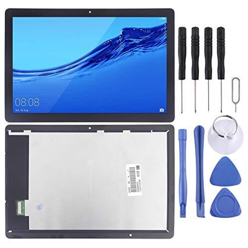 Zhouzl Schermo LCD per Telefono Cellulare Schermo LCD e digitalizzatore Assemblaggio Completo for Huawei MediaPad T5 10 AGS2-L09 AGS2-W09 AGS2-L03 AGS2-W19 (Nero) Schermo LCD Huawei (Colore : Black)