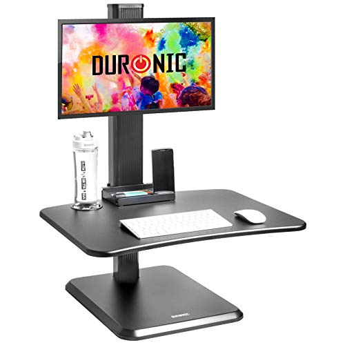 Duronic Sit-Stand Desk DM05D14 | Height Adjustable Office...