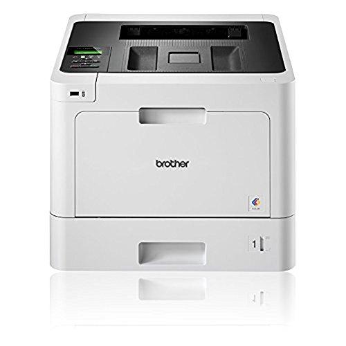 Brother HL-L8260CDW Professioneller WLAN Farblaserdrucker (31 Seiten/Min., Duplex, 2.400 x 600 dpi) weiß/schwarz