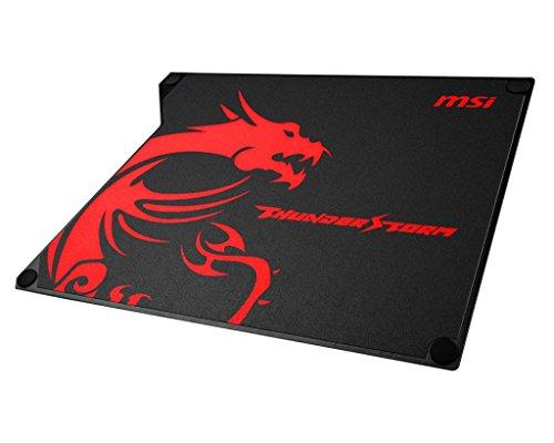 MSI Thunderstorm Aluminum Gaming Maus Pad