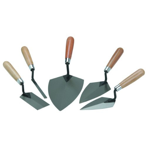 Masonry Hand Tools 5 Piece Mason Set