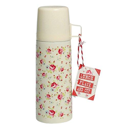 Edelstahl-Isolierflasche, 350ml, verschiedene Designs La Petite Rose