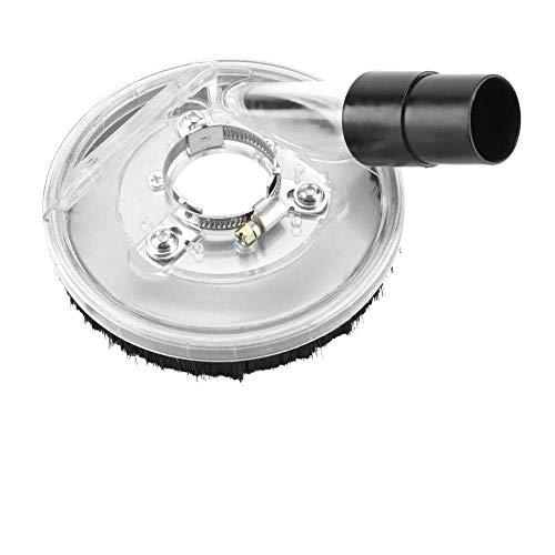 𝐂𝐡𝐫𝐢𝐬𝐭𝐦𝐚𝐬 𝐆𝐢𝐟𝐭 Cubierta de Polvo de Amoladora, Tapa de molienda al vacío Transparente de 80-125 mm para amoladoras angulares Amoladora Manual