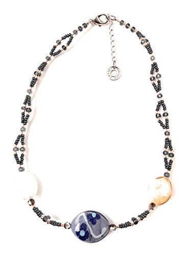 ANTICA MURRINA VENICE CO997A19 COLORED GLASS NECKLACE BEMBO COLLECTION