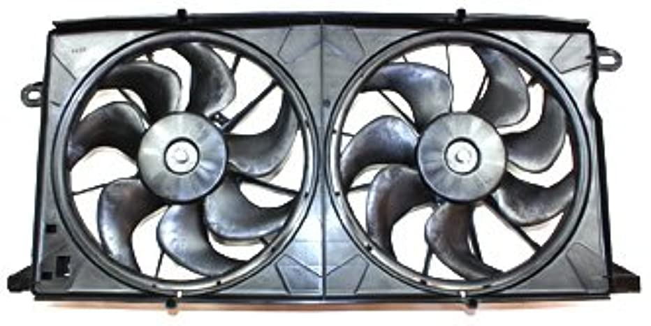 TYC 620320 Buick/Pontiac Replacement Radiator/Condenser Cooling Fan Assembly