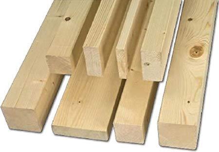 Listón de madera de abeto bruto (sección 10 x 30 mm. Paquete de 40 unidades)