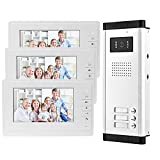 OBO HANDS 7'' Wired Color Video Door Phone Intercom System IR Night Vision...