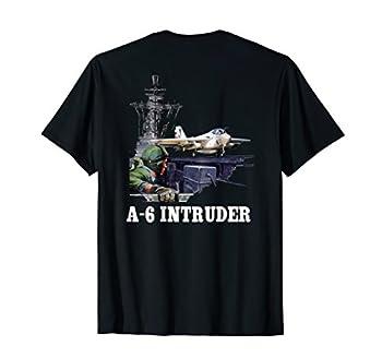 A-6 INTRUDER LAUNCH AIRCRAFT CARRIER T-SHIRT