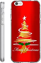 iPhone 6S Plus Case Drop Protection TPU Bumper Case for Apple iPhone 6 Plus (2014) / 6S Plus (2015) Christmas Tree