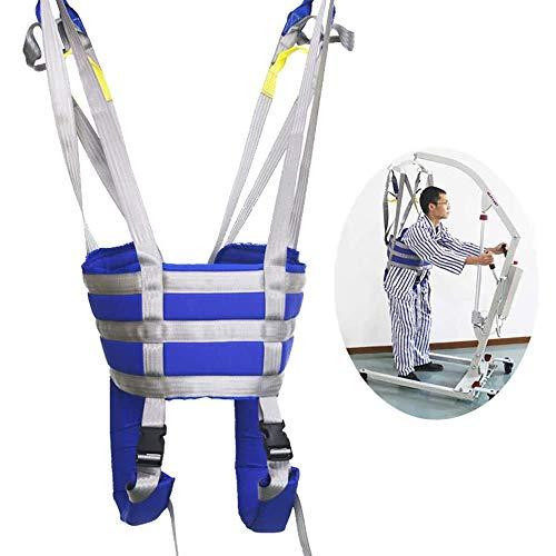 XIAORANA Patientenlifter Sling Stiege, Ganzkörper- Patientenlift Slings, Lagergewicht 507lb, für Bariatrie, Krankenpflege, ältere Menschen, Behinderte, Ganzkörper Und Bettlägeriges Netz
