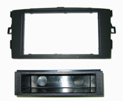 Autoleads FP-11-12 - Soporte DIN de Radio para Toyota Auris, Color Negro