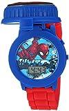 Marvel Analog-Quartz Watch with Plastic Strap, red, 18 (Model: SPD4498)