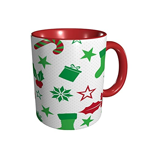 Funny Christmas Socks Snowflake Coffee Mugs For Woman & Men,Stress Relief Gifts For Women Novelty Coffee Mug Retirement Gift Perfect Birthday Idea