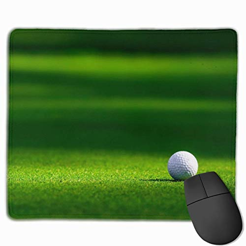 Glattes Mauspad, Golfball Mobile Gaming Mousepad Work Mouse Pad Büropad