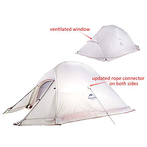 Tenda Cloud up Series Versione Aggiornata, Tenda Backpacking Impermeabile Tenda da Campeggio Ultraleggera...