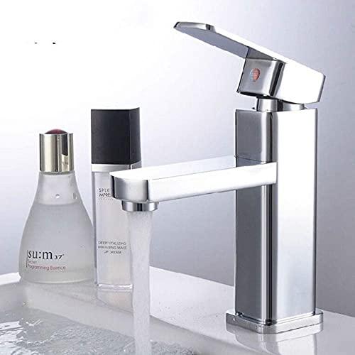 AllRight Badarmatur Wasserhahn Waschtischarmatur Einhandmischer hoch Bad Küche Armatur - 3