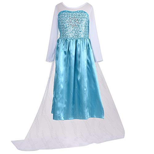 LOEL New Princess Party Costume Girl Halloween Dress Up for 3-4 Years