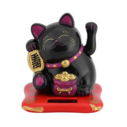 Maneki Neko Fortune Cat - Chat Chanceux alimenté par énergie