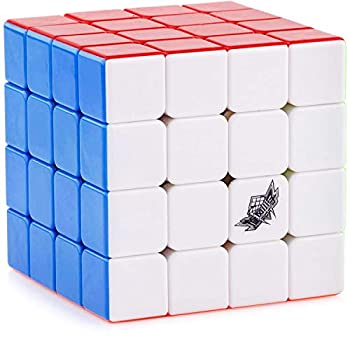 D-FantiX Cyclone Boys 4x4 Speed Cube Stickerless Enhanced Version Smooth Magic Cube Puzzles  60mm