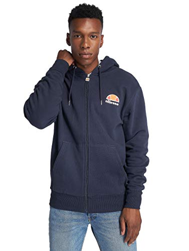 Mens Tracksuit ELLESSE Miletto Zip Thru Hooded TracksuitDress Blue