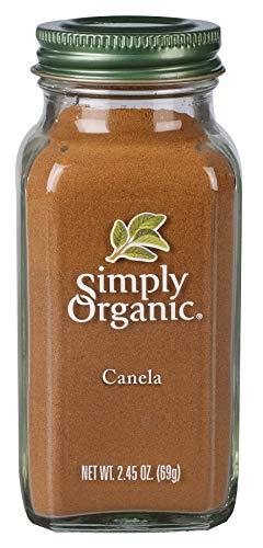 Simply Organic Canela en Polvo, 69 g