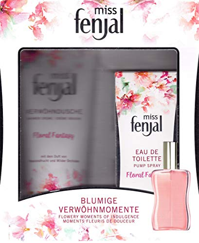 Miss Fenjal Floral Fantasy Geschenk-Set Eau de Toilette Spray 50 ml + Duschgel 200 ml