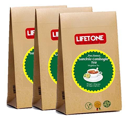 30 días de té de desintoxicación para perder peso quema grasas   Té adelgazante   Bebida de limpieza de dieta   60 bolsitas de té   Mezcla de suplemento de hierbas naturales con Garcinia Cambogia