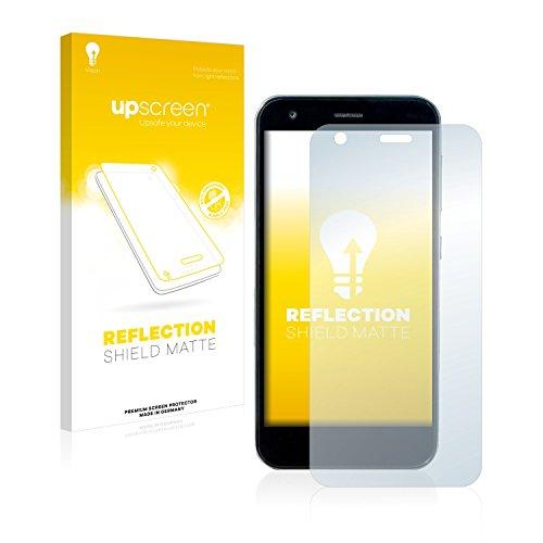 upscreen Entspiegelungs-Schutzfolie kompatibel mit ZTE Blade S6 Flex – Anti-Reflex Bildschirmschutz-Folie Matt