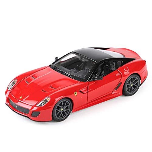 hclshops Modelo del Coche 1,24 Ferrari 599 GTO de simulación de aleación de fundición de Joyas de Juguete Sports Car...