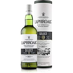 Laphroaig Select Islay Single Malt Scotch Whisky, mit Geschenkverpackung, sanfter Torfrauch mit süßlichen Noten, 40% Vol…