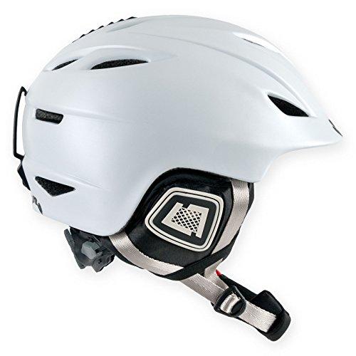 Unbekannt Trans 1200 Damen Ski & Snowboard Helm Helmet White GR. M 56-58 cm