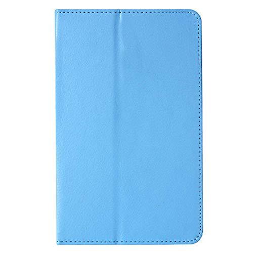 Für Tablet-Hülle Für Lenovo A8-50 A5500 Schutzhülle Folio PU Ledertasche Abdeckung Für Lenovo IdeaTab A8-50 A5500 8-Zoll-Tablet-Himmelblau