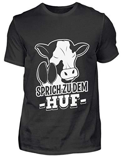 Sprich bij de heup voor koe fans - heren shirt