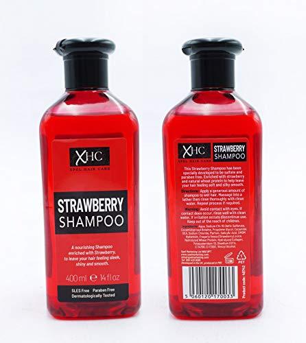 XHC Champú de fresa 400 ml