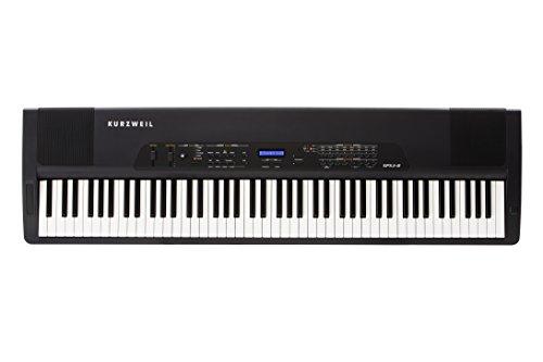 Kurzweil SPS4-8 - Teclado MIDI (USB, 131,45 cm, 36,83 cm, 11,43 cm, Corriente alterna, 90 - 250V) Negro