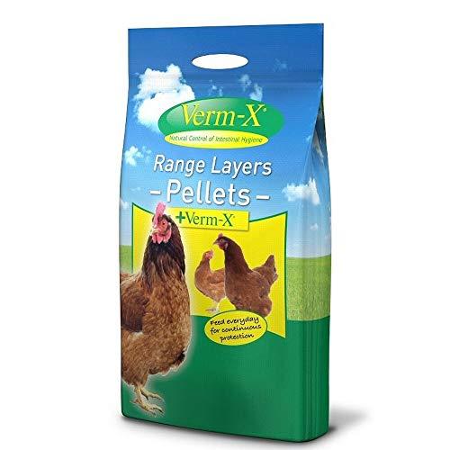 Shorefields Copdock 1 sac de 5 kg de vermifuge en granulés Verm X pour les poules élevées en plein air