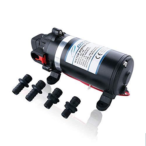 N/ A Bomba de Agua 220V Diafragma de Alta presión 160PSI 5.1L / Min, pulverizador de Bomba de Refuerzo de nebulización autocebante para Caravana/Barco/Marino para Lavadora de Autos