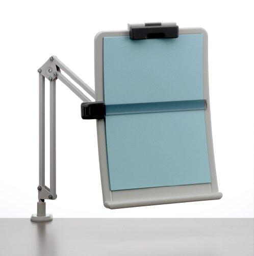Exponent 56106 Flexibler Dokumenten Konzepthalter A4 Ergonomie, feststellbare Höhe Abstand und Neigungswinkel