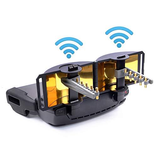 (2-in-1) Foldable Mirror Signal Booster + (5.8Ghz) Yagi Antenna Amplifier Range Extender for DJI Mavic Mini Remote Controller