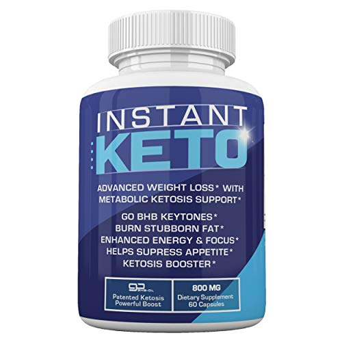 Instant Keto - Advanced Weight Loss with Metabolic Ketosis Support - 800MG - 60 Pills - 30 Day Supply 1