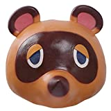 Masque de Animal Crossing Tom Nook Masque coiffures d'animaux Halloween Cosplay Costume nouveauté Masque Casque Carnaval Accessoires de fête