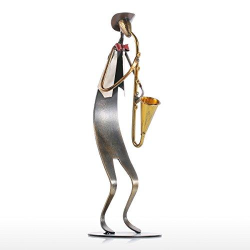 Tooarts Deko Skulptur Eisenskulptur Dekofigur aus Eisen zum Dekorieren Handgemachte Geschenk Idee