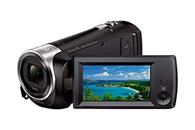 Sony HD Video Recording HDRCX405 Handycam Camcorder | SanDisk Ultra 64GB microSDXC UHS-I Card with Adapter from Sony